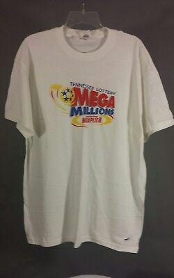 Tennessee Lottery Mega Millions Megaplier Play   Size Xl   Mega Fun T Shirt Tee