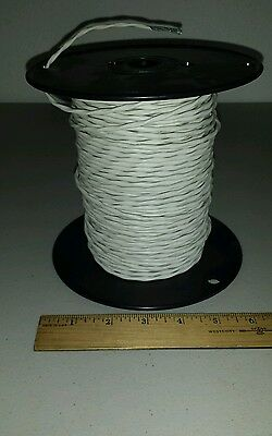 293 Ft Spool Mil-spec M27500a20ml2t08 Shielded Aircraft Wire 20awg 2c 600v