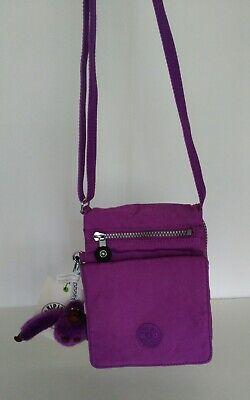 NWT Kipling El Dorado Crossbody, Violet Purple
