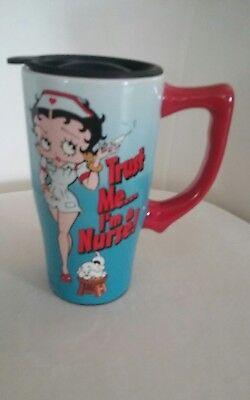 Ceramic Betty Boop Travel Mug