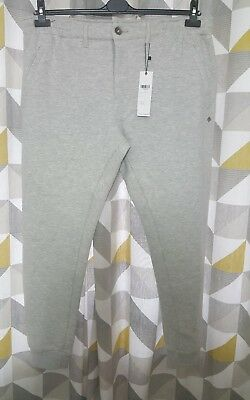 - MEN'S MISH MASH GREY SWEAT PANTS SIZE 42