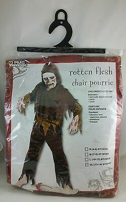 Halloween Scary PMG Costumes Boys Rotten Flesh Child XL Extra Lage Size 12-14 - Extra Scary Halloween Costumes
