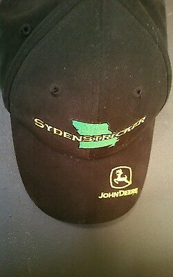 John Deere Snap Back Cap Sydneystricker Cary Francis Group Adj Size Black