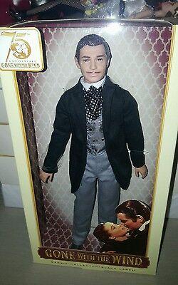 Barbie Gone With The Wind Rhett Butler 75th Anniversary Doll