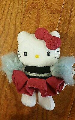 NEW WITH TAG RARE Vintage 1976 2001 Sanrio Hello Kitty Cheer Leader plush doll