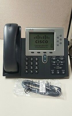 Cisco Ip Cp-7961g Display Phone Gray Refurbished No Power Supply