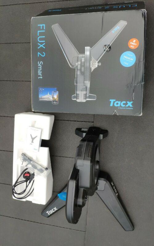 Tacx Flux 2 Smart Turbo Trainer - Black (T2980.62)