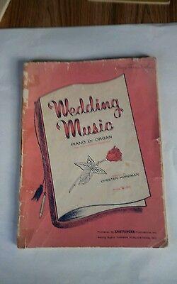 Hammond Organ Music - WEDDING MUSIC PIANO OR ORGAN Pipe And Hammond Registration by CHESTER NORDMAN
