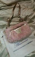 Blumarine Blu Girl Borsa Pouch Hand Bag Col Rosa Pink Cm 25 X Cm 12 Con Dustbag - blumarine - ebay.it
