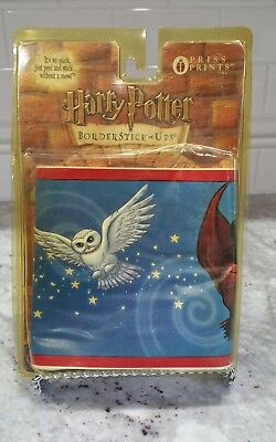 - HARRY POTTER ~ WALL BORDER ~ 5 INCH X 15FT ~ PRISS PRINTS STICK UPS ~ NEW