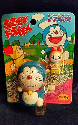 Rare! Doraemon w/ Gumbar Vintage Wind Up Toy NIP ~ Ray Rohr Cosmic Artifacts