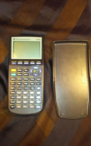 VTG Texas Instruments Model TI-83 Plus Graphing Graphics Calculator w/ Cover