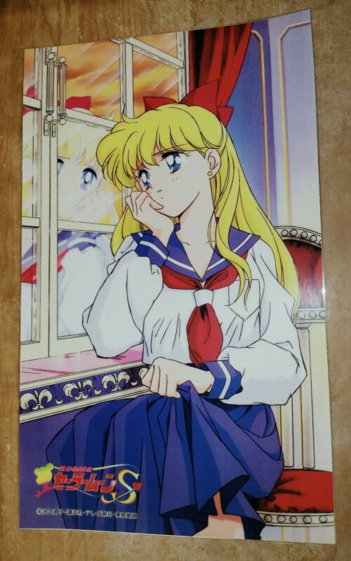 Sailor Venus Minako Aino character poster 11x17 laminated sailor SAILOR MOON S
