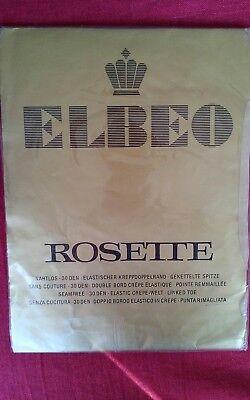 Feinstrümpfe von Elbeo, nur mit Halter zu tragen