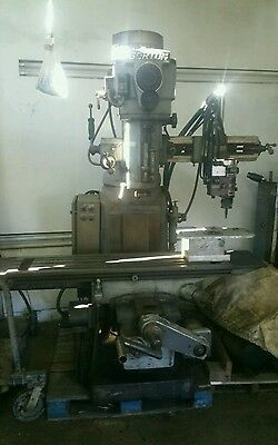 True-trace Trace-master Model 1110 Gorton 2 Axis Vertical Mill Milling Machine
