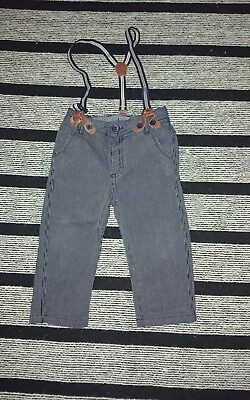 Matalan 9-12 m boy trousers with braces