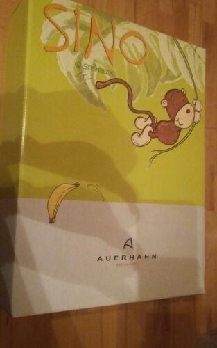 Auerhahn Set Kinder Besteck Geschirr Sino Affe Steinbeck NEU & OVP