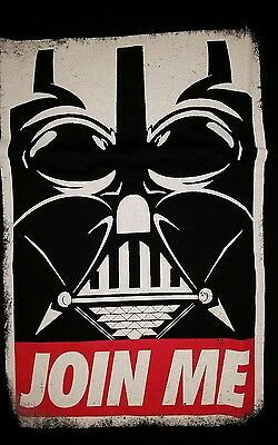 Xl Star Wars Darth Vader Obey T Shirt  New Without Tags Logan Join Me