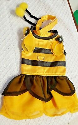 BUMBLE BEE DOG COSTUME, HALLOWEEN, Quality U.S.A, male or female - Male Bee Costume