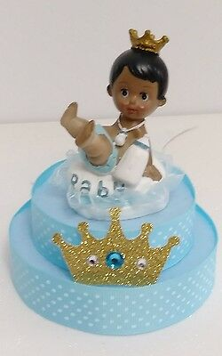 PRINCE CROWN BOY BABY SHOWER BIRTHDAY CAKE TOPPER CENTERPIECE  DECORATION  (Prince Crown Cake Topper)
