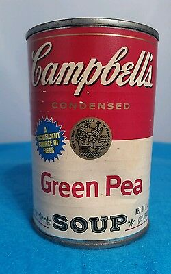 Canned Pea Soup - Unopened 25 Year (Quarter of A Century) Old Can of Campbell's Green Pea Soup