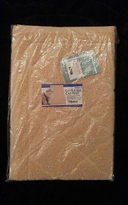 """Cat Litter Mat XL Super Size 35.5"""" x 24"""" Litter Box Scatter Control Trapper Pan"""