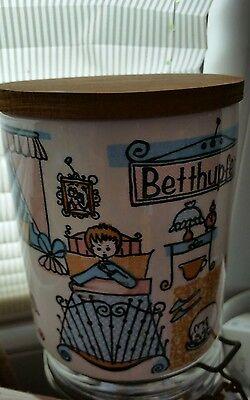 Schramberg Betthupferl Keramik-Deckeldose Dec.110. 50 er Jahre