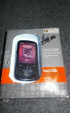 (NEW) *BLACK* SANDISK SANSA FUZE + MP3 PLAYER 8GB