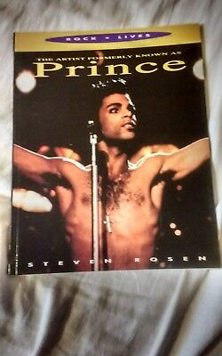Artist Formally Known As Prince (THE ARTIST FORMALLY KNOWN AS PRINCE BOOK   STEVEN ROSEN GREAT)
