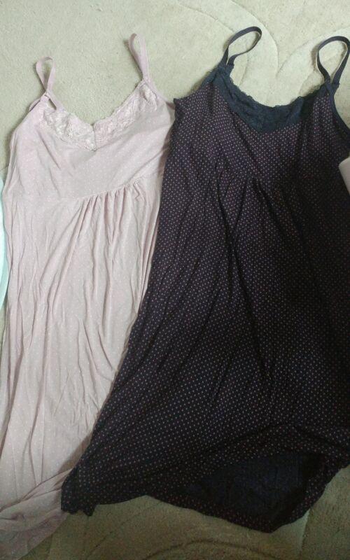 2 Gap Body Maternity Nursing Night Gown Size Small New