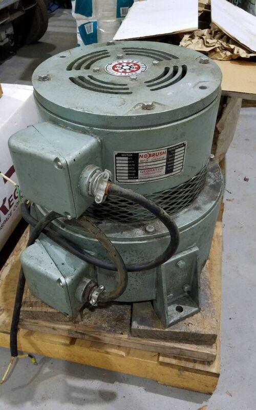 NOBRUSH Georator Corp. Model 33-001 Brushless Generator (Singer PN 1002009-03)