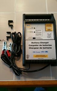 Napa 10 amp fast charge battery charger automatic shut-off dual charging NEW