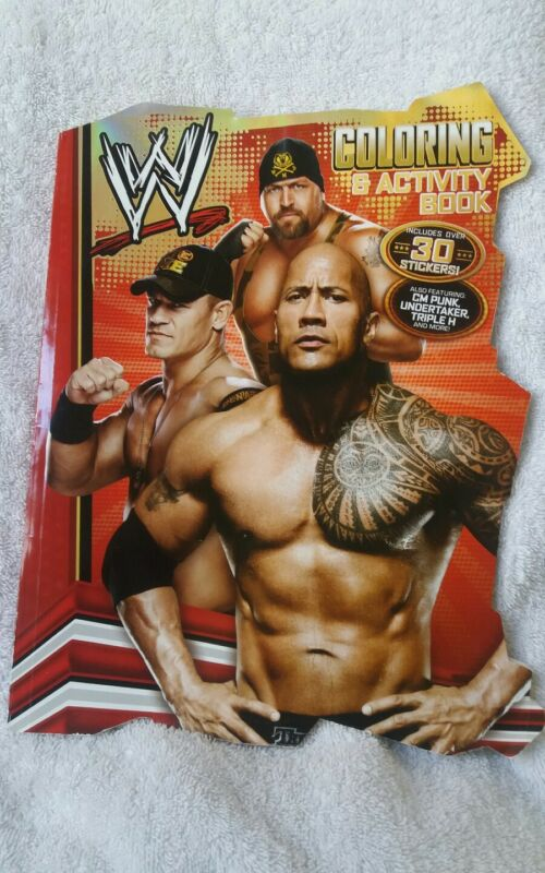 WWE Coloring & Activity Book Includes 30 Stickers By Bendon Books
