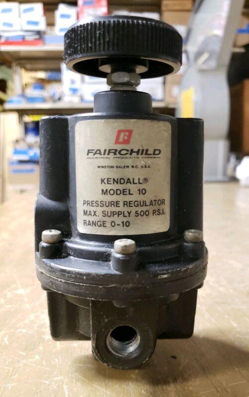 FAIRCHILD KENDALL Model 10 Pressure Regulator Range 0-10 19JS-0506-X3