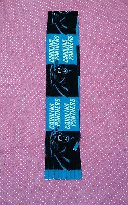 NFL FLEECE SCARF CAROLINA PANTHERS APPROX 60 x 6 inches UNISEX MULTI- COLOR - Carolina Panthers Scarf