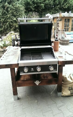 Gasgrill Einbau Grill Outdoor Küche Drehspieß 4