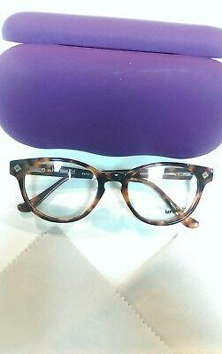 New Kensie Girl Zany Tortoise Eyeglass Frames Retail Price $150!!