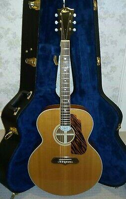 Gibson SJ100 1941 Reissue Super Jumbo Acoustic Guitar Case Vintage