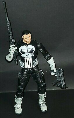 "Marvel Legends Toybiz Series 4 Black Belt & Pockets Punisher 6"" Action Figure"