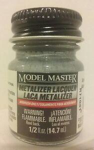 Testors Model Master Metalizer lacquer 1418, Aluminum  (non - buff)