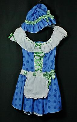 Teen Girls Juniors Leg Avenue Strawberry Shortcake Blueberry Muffin Costume S/M