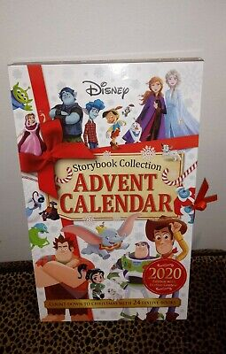 Disney Advent Calendar 2020 24 Day Storybook Collection Frozen Mickey Pooh Pixar