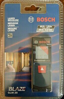 Bosch Glm 20 Compact Blaze 65 Laser Distance Measure - New