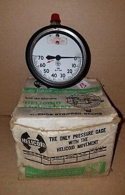 Helicoid 30-l Psi Helicoid Pressure Gauge Steampunk