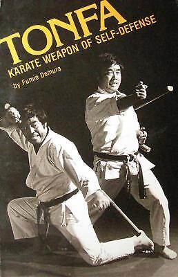 TONFA KARATE WEAPON OF SELF-DEFENSE BY FUMIO DEMURA KARATE KUNG FU MARTIAL ARTS