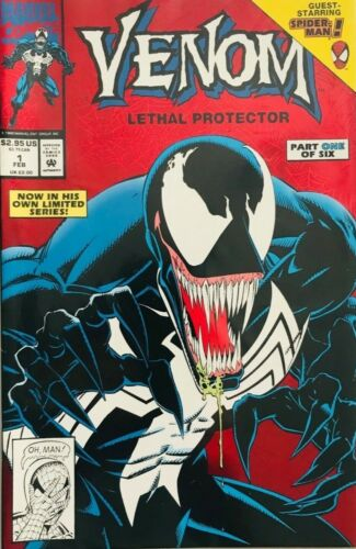 VENOM LETHAL PROTECTOR #1 FIRST VENOM SOLO BOOK NM- (PRIORITY & FREE INSURANCE)