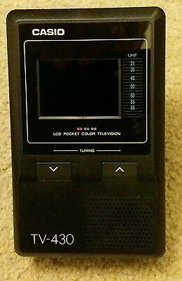 Casio TV430 Pocket TV