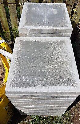 20x BSS Pressed Concrete Slab Natural 450mm x 450mm x 50mm