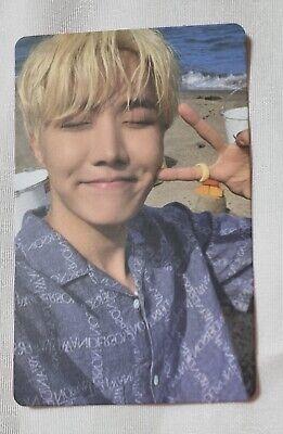 BTS BUTTER Official Peach Version Photo card JHOPE HOSEOK