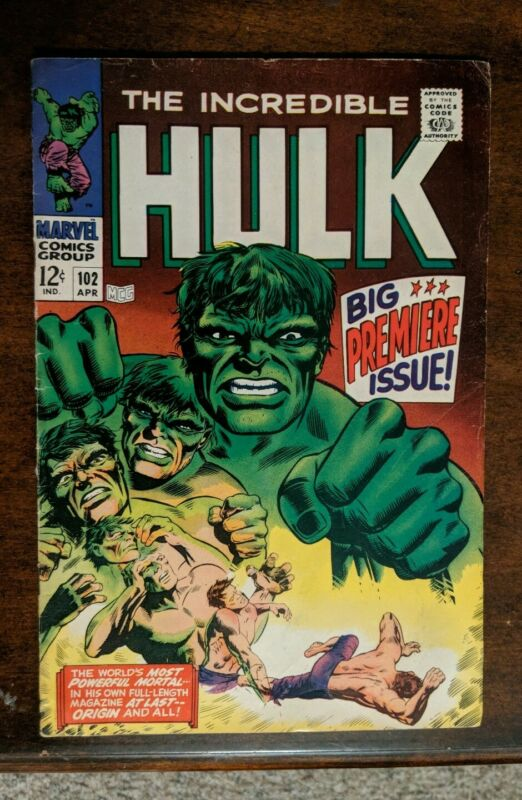 The Incredible Hulk # 102  (Apr 1967 Marvel)VERY NICE BOOK!!!